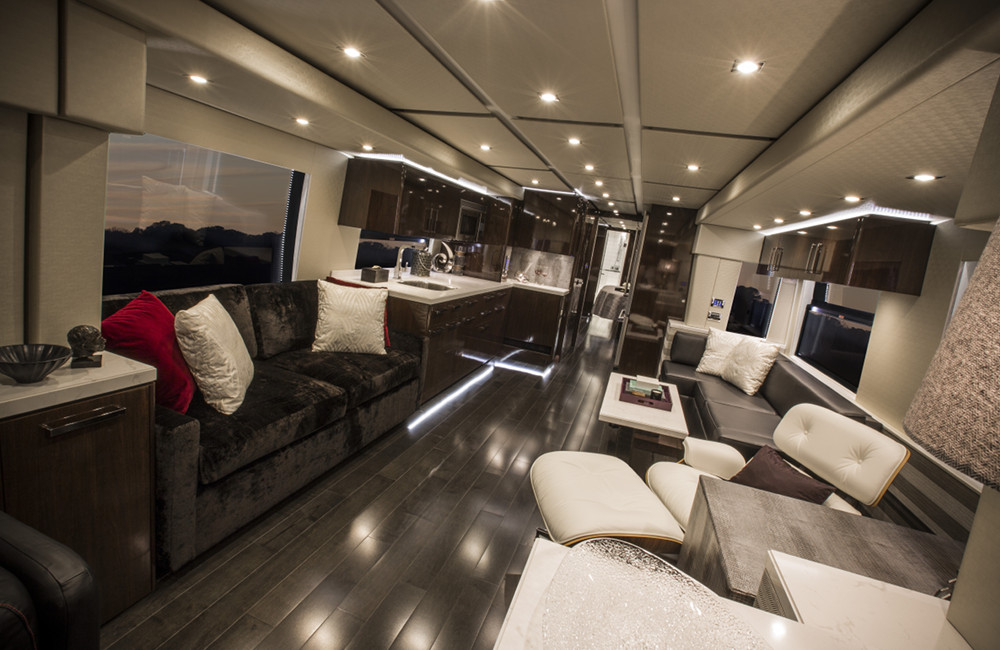 Prevost Conversions From Featherlite Coaches Our Heritage