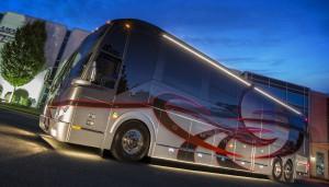 New & Used Custom Prevost Motorhome Sales | Featherlite Coaches
